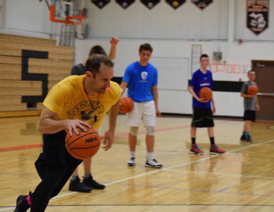 Trevor Huffman Basketball